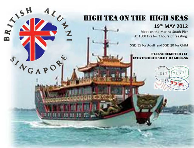 BAS Special: High Tea on the High Seas!