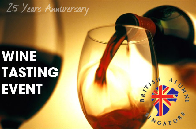 25th Anniversary BAS Event: Wine Tasting - Nov